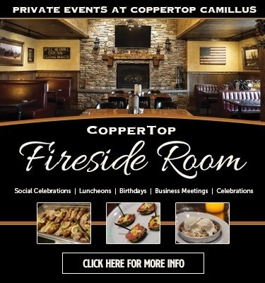 CopperTop Camillus - Fireside Room