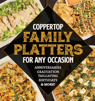 CopperTop Family Platters