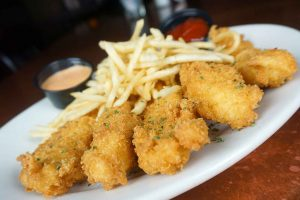 Crunchy Chicken Tenders