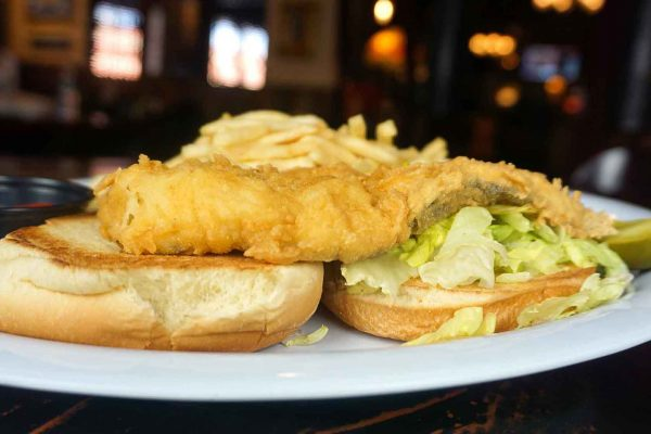Fried Haddock Sandwich