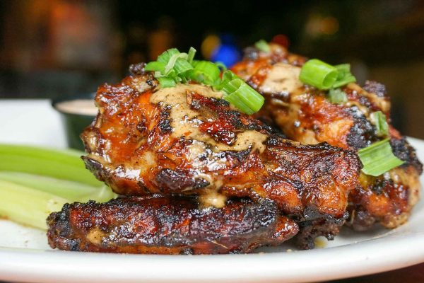 Grilled Jamaican Wings