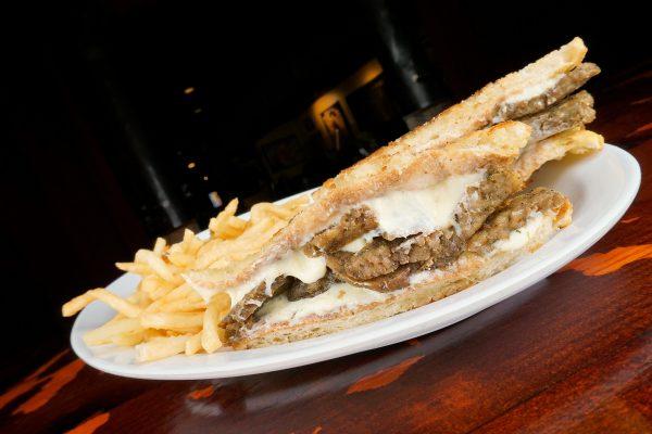 Meatball Cheese Burgers & Tavern Fries