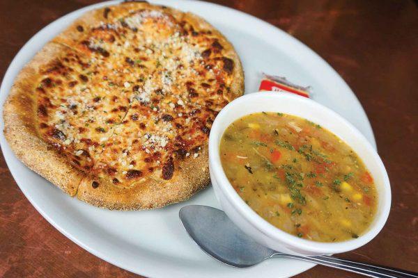 Pizza & Soup Combo