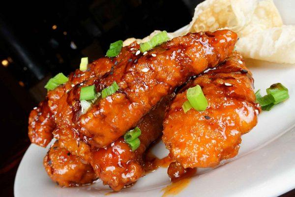 Sweet Fire Chicken Tenders